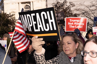 Demonstration for Impeachment at U.S. Capitol