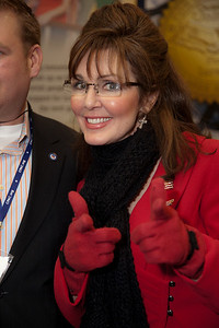 Sarah Palin impersonator Patti Lyons