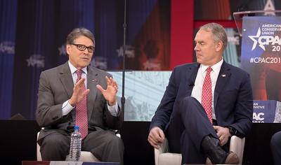Rick Perry, Ryan Zinke