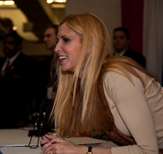 Ann Coulter book signing