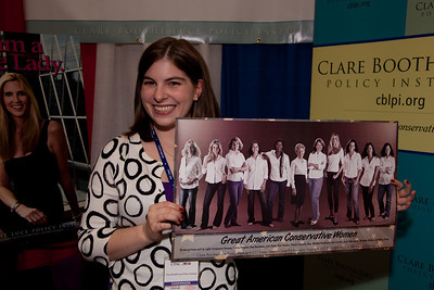 Clare Booth Policy Institute booth