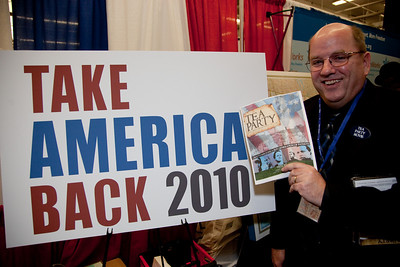 Luke Livingston, producer of the film Tea Party Movie