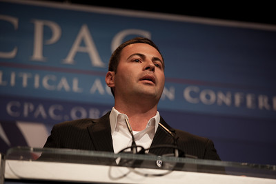 Ryan Sorba, head of the Young Americans for Freedom's California chapter, stood up to condemn CPAC's invitation to GOProud , a group that supports gay Republicans: Mr. Sorba was booed by some in the conservative audience.