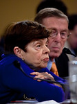 Former Clinton budget director Alice Rivlin testifies. Congress' Joint Select Committee on Deficit Reduction, also known as the Supercommittee, held a public hearing on Capitol Hill in Washi ...