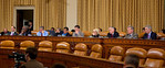 Congress' Joint Select Committee on Deficit Reduction, also known as the Supercommittee, held a public hearing on Capitol Hill in Washington DC on November, 1, 2011. Witnesses included forme ...