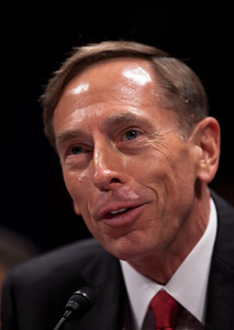 CIA Director, David Petraeus (photo) and Director of National Intelligence, James Clapper testified at a joint congressional intelligence committee hearing on Capitol Hill on Tuesday, September 13, 2011 in Washington DC. America's top two intelligence officials told Congress that al-Qaeda is weaker and U.S. intelligence agencies are smarter since the 9/11 attacks, but that the terrorists are still dangerous and are not close to giving up. On the job for only eight days, Mr. Petraeus has swapped his green uniform for business attire. (Photo by Jeff Malet)
