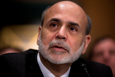 Federal Reserve Chairman Ben Bernanke testifies at the Senate Banking, Housing and Urban Affairs Committee hearing on the Dodd-Frank financial reform law, on Capitol Hill in Washington DC on Thursday, February 17, 2011. (Photo by Jeff Malet)
