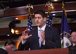 House Budget Committee Chairman Rep. Paul Ryan (R-WI), introduces his budget plan, titled