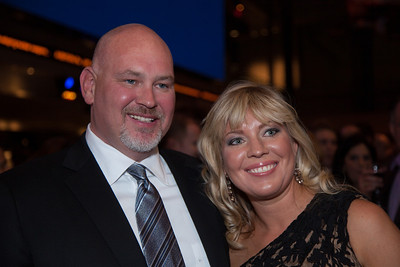 "Steve Schmidt appears with his wife Angela at the viewing party during the Washington D.C. premier of the HBO movie ""Game Change"" based on the political bestseller of the same name about the 2008 McCain-Palin Republican presidential campaign. Schmidt was the real life senior campaign strategist and advisor for the campaign. The movie was screened at the Newseum on Thursday. March 8, 2102. (Photo by Jeff Malet)"