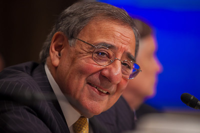 Secretary of Defense Leon Panetta testifies at a hearing of the Senate Budget Committee on the proposed fiscal 2013 budget request for the Department of Defense on Tuesday, February 28, 2012 on Capitol Hill in Washington D.C. (Photo by Jeff Malet)