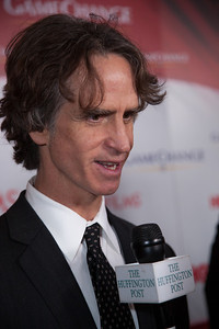 "Film director Jay Roach appears on the red carpet at the Washington, DC, premier of the HBO movie ""Game Change"", which he directed, based on the political bestseller of the same name about the 2008 McCain-Palin Republican presidential campaign. The movie was screened at the Newseum on Thursday March 8, 2102. (Photo by Jeff Malet)"