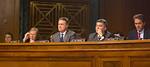 John Kerry, Johnny Isakson (R-GA), David Perdue (R-GA), Cory Gardner (R-CO), and Jeff Flake (R-AZ)