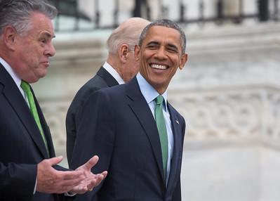 Barack Obama,  Enda Kenny, Peter King, Joe Biden