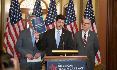 Paul Ryan, Kevin McCarthy, Greg Walden, American Health Care Act