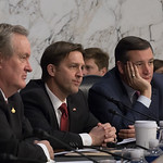 Senator Ben Sasse, Judge Neil M. Gorsuch, Ted Cruz, Mike Crapo