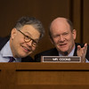 Judge Neil M. Gorsuch, Al Franken, Chris Coons