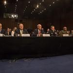 Andrew McCabe, Mike Pompeo, Dan Coats, Adm. Michael Rogers, Lt. Gen. Vincent Stewart