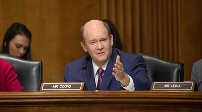 Chris Coons; Mike Pompeo