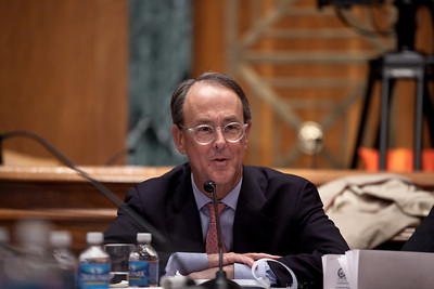 "Erskine Bowles, a Democrat who was White House chief of staff for President Clinton was co-chair of President Obama's Debt Reduction Commission. A report issued by the commission to find ways to pull the United States out its massive debt failed to win the 14 votes required to bring it up for a vote in Congress. The commission's final report, titled ""The Moment of Truth."" won the backing of 11 out of 18 members - three short of the supermajority required under the executive order that Obama signed in February when he created the panel. This final meeting of the panel took place on Capitol Hill in Washington DC, Friday, Dec. 3, 2010. (Photo by Jeff Malet)"