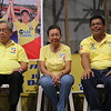 CEBU CITY. Former Chief Justice Hilario Davide Jr., Cebu Acting Governor Agnes Magpale, and Romeo Villarante.