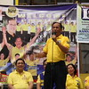 CEBU CITY. Johnny delos Reyes, the Liberal Party's (LP) standard bearer in Talisay, was also present during the campaign in San Roque, Talisay City. (JAC)