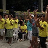 CEBU CITY. Supporters of the Liberal Party dance in the LP campaign jingle.