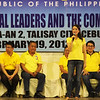 Tootsie Angara represents her husband, Aurora representative Sonny Angara, during the Liberal Party rally in Talisay City on Feb. 19, 2013 (Photo by Daryl D. Anunciado)