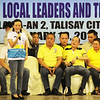 FPJ's daughter and former MTRCB chief Grace Poe-Llamanzares asks the Cebuano people to vote for her for senator during the Liberal Party rally in Talisay City on Feb. 19, 2013 (Photo by Daryl D. Anunciado)
