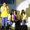 "Senatorial bet Benigno ""Bam"" Aquino IV, presidential cousin, campaigns during the Liberal Party rally in Talisay City on Feb. 19, 2013 (Photo by Daryl D. Anunciado)"