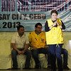 Senatoriable Jamby Madrigal during the Liberal Party rally in Talisay City on Feb. 19, 2013 (Photo by Daryl D. Anunciado)