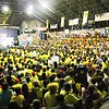 The crowd during the Liberal Party rally in Talisay City on Feb. 19, 2013 (Photo by Daryl D. Anunciado)