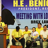 President Benigno Simeon Aquino III speaks during the Liberal Party rally in Talisay City on Feb. 19, 2013 (Photo by Daryl D. Anunciado)