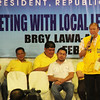 Ramon Magsaysay Jr., son of a late president, during the Liberal Party rally in Talisay City on Feb. 19, 2013 (Photo by Daryl D. Anunciado)