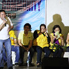 Las Piñas congressman Mark Villar represents his mother, senatorial candidate Cynthia Villar, during the Liberal Party rally in Talisay City on Feb. 19, 2013 (Photo by Daryl D. Anunciado)
