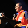 UNA proclamation rally. Vice President Jejomar Binay. (Photo by Daryl D. Anunciado of Sunnex)