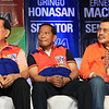 THE THREE KINGS OF UNA. (From left) Senate President Juan Ponce Enrile, Vice President Jejomar Binay and former President Joseph Ejercito Estrada. (Photo by Daryl Anunciado)