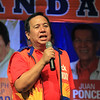 UNA proclamation rally. Senatorial candidate Dick Gordon. (Photo by Daryl D. Anunciado of Sunnex)
