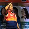 UNA proclamation rally. Senatorial candidate Nancy Binay. (Photo by Daryl D. Anunciado of Sunnex)