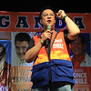 UNA proclamation rally. Senatorial candidate Jack Enrile. (Photo by Daryl D. Anunciado of Sunnex)