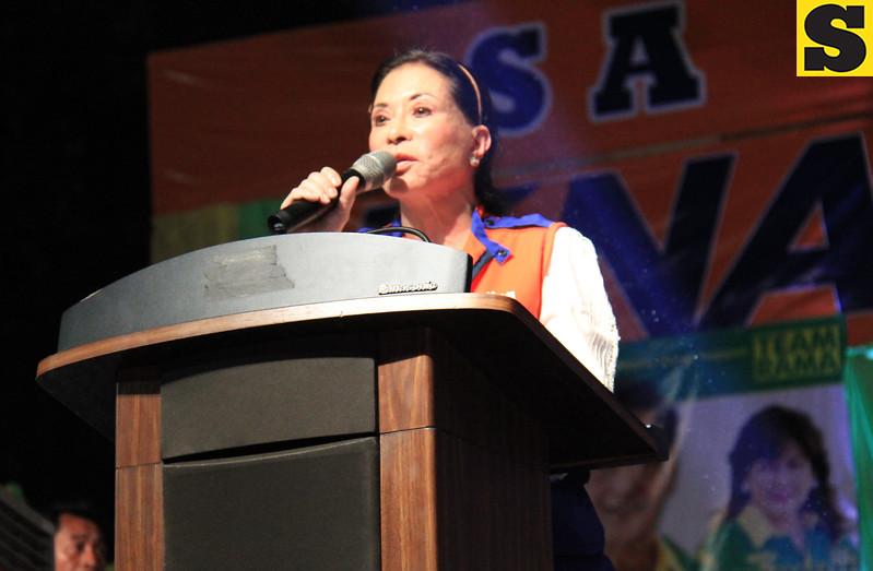UNA proclamation rally. Senatorial candidate Tingting Cojuanco. (Photo by Daryl D. Anunciado of Sunnex)