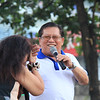 UNA proclamation rally. Comedienne Tiya Pusit and radio personality, Cebu City Councilor Juliann Daan. (Photo by Daryl D. Anunciado of Sunnex)