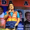 "UNA proclamation rally. Senatorial candidate Miguel ""Migz"" Zubiri. (Photo by Daryl D. Anunciado of Sunnex)"