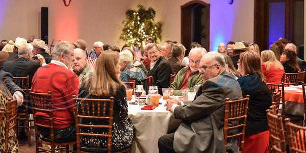 More than 200 guests gathered at The Legacy in Jacksonville for the 2020 Republican President's Dinner on Saturday, February 15.