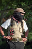 "Zapatista ""Subcomandante Marcos"" appears in the rebel-controlled area of the southeastern Mexican state in 1994. (Australfoto/Douglas Engle)"