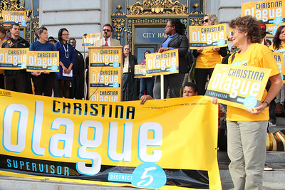 David Campos, District 9 Supervisor endorses Christina Olague.