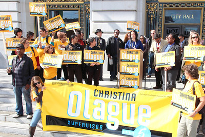 Jane Kim, District 6 Supervisor endorses Christina Olague.