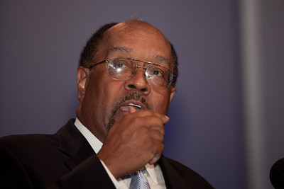 William H. Gray served as president and chief executive officer of the United Negro College Fund (1991–2004). He was an influential member of the United States House of Representatives in the 1980s serving as the Majority Whip until his resignation. As an African-American, he was the fourth highest ranking member of the House at the time of his resignation and a minister in Philadelphia. He is currently co-founder of the government lobbying and advisory firm, Gray Loeffler LLC, headquartered in Washington D.C