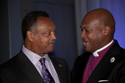 Rev. Jesse Jackson Bishop Keith Martin, Pentacostal Church of Christ