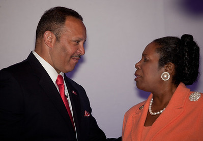 Marc Haydel Morial is an American political and civic leader and the current president of the National Urban League. Morial served as mayor of New Orleans, Louisiana from 1994 to 2002. Rep. Sheila Jackson Lee (D-TX)
