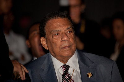 Andrew Young Andrew is an American politician, diplomat, activist and pastor from Georgia. He has served as Mayor of Atlanta, a Congressman from the 5th district, and United States Ambassador to the United Nations. He served as President of the National Council of Churches USA, was a member of the Southern Christian Leadership Conference (SCLC) during the 1960s Civil Rights Movement, and was a supporter and friend of Dr. Martin Luther King, Jr.